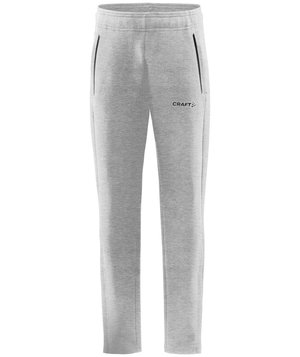 Craft Core Soul Zip Jogginghose für Kinder, Grau Melange