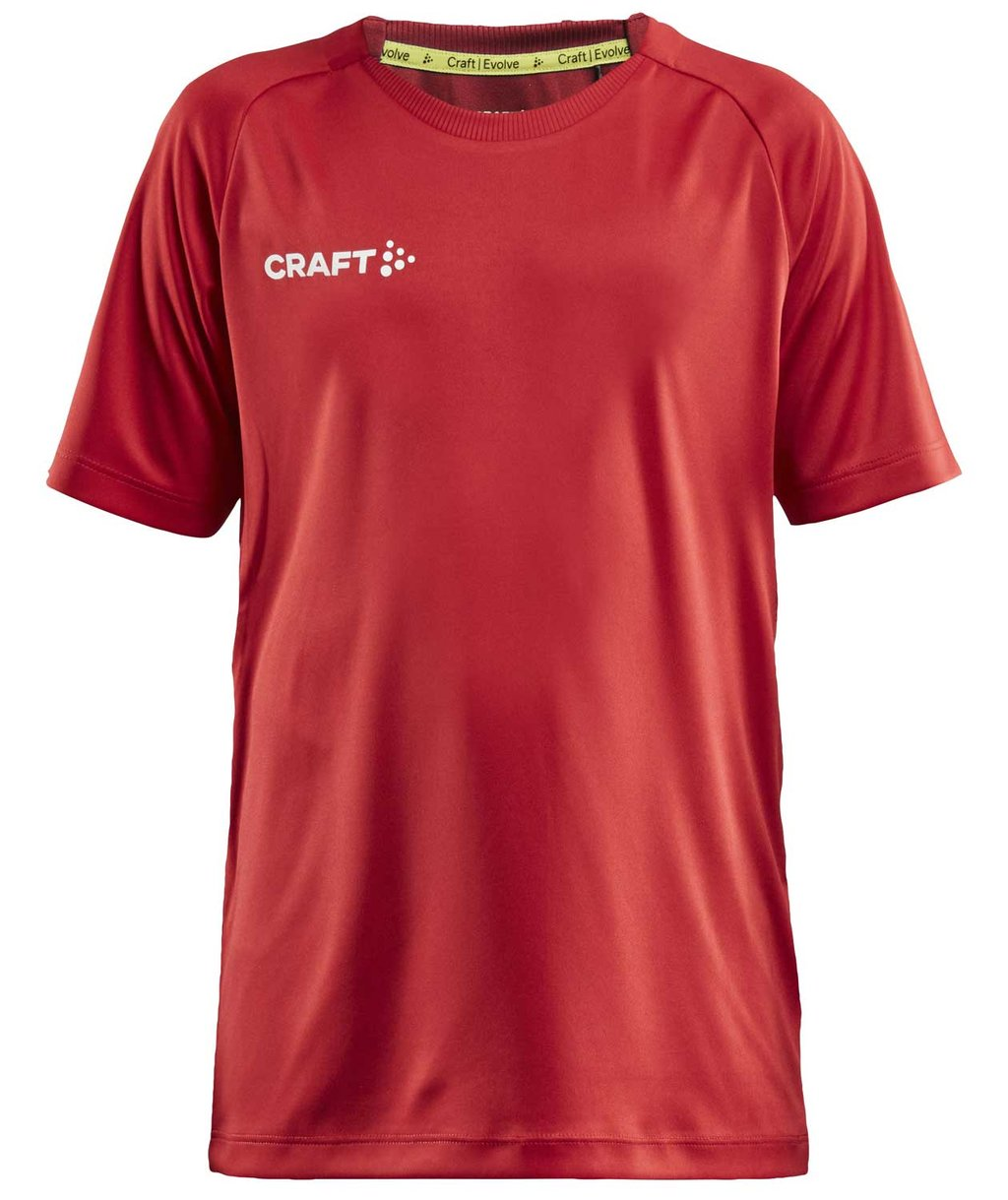 Craft Evolve T-Shirt für Kinder, Rot