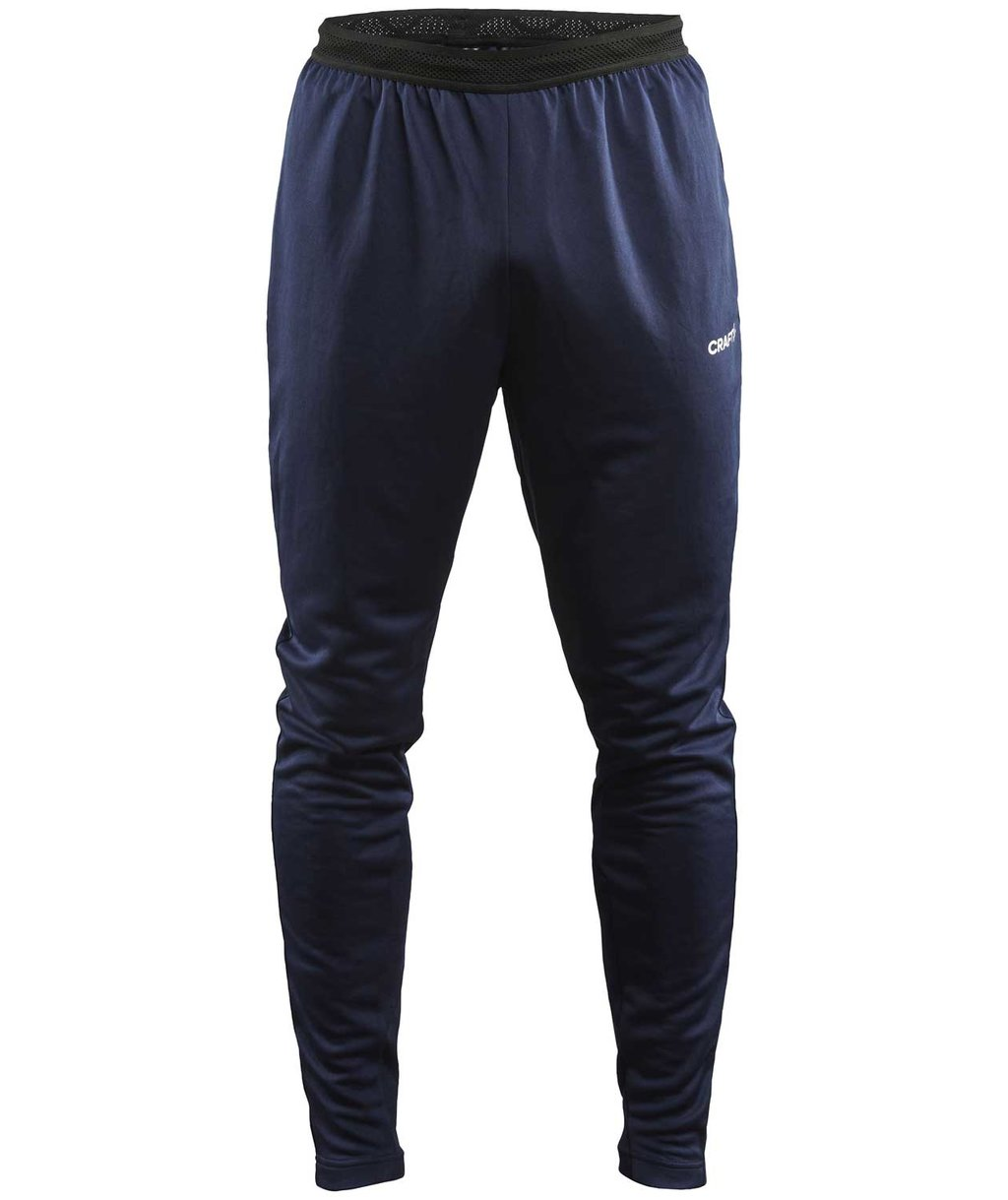 Craft Evolve slim fit trousers, Navy
