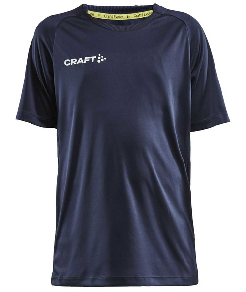 Craft Evolve T-Shirt für Kinder, Navy
