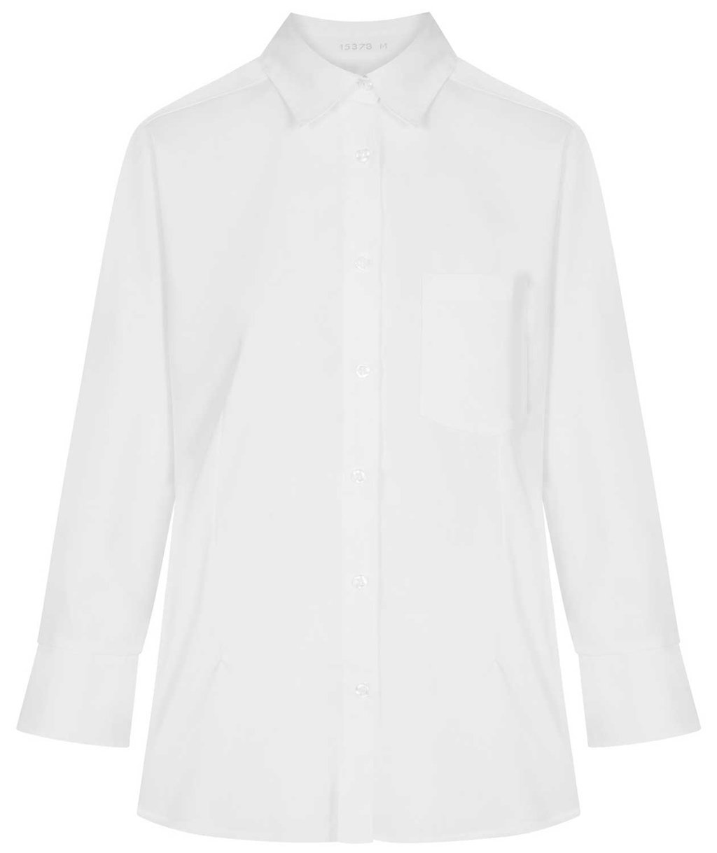 Kentaur 7/8-length sleeved women's shirt, White