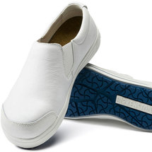 Step-in safety shoes withelastic
