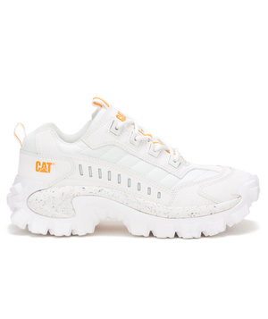 CAT Intruder women's sneakers, White/Yellow
