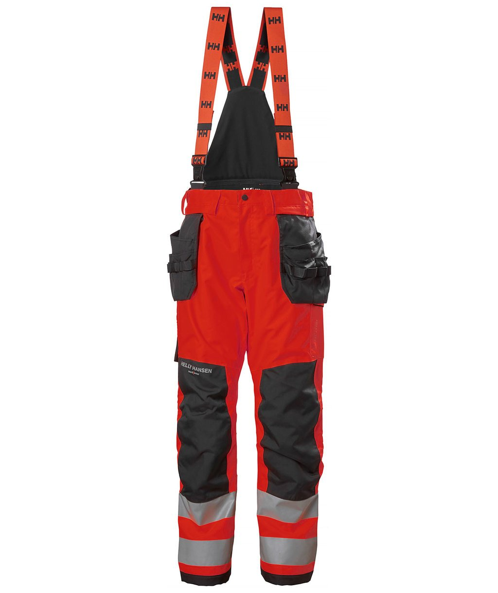 Helly Hansen WW Alna 2.0 winter trousers, Hi-Vis Red/Charcoal