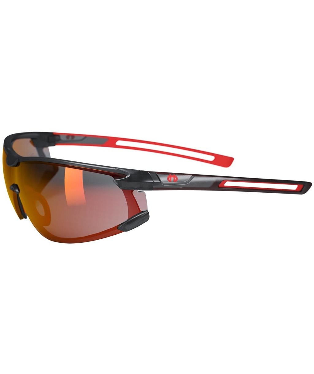 Hellberg Krypton AF/AS safety glasses, Red