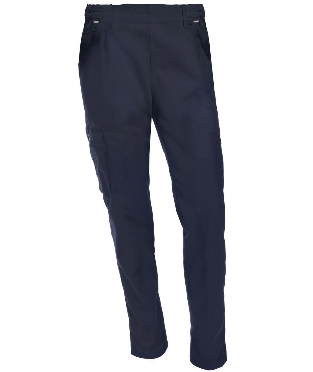 Nybo Workwear Perfect Fit unisex pull-on chinos, Navy