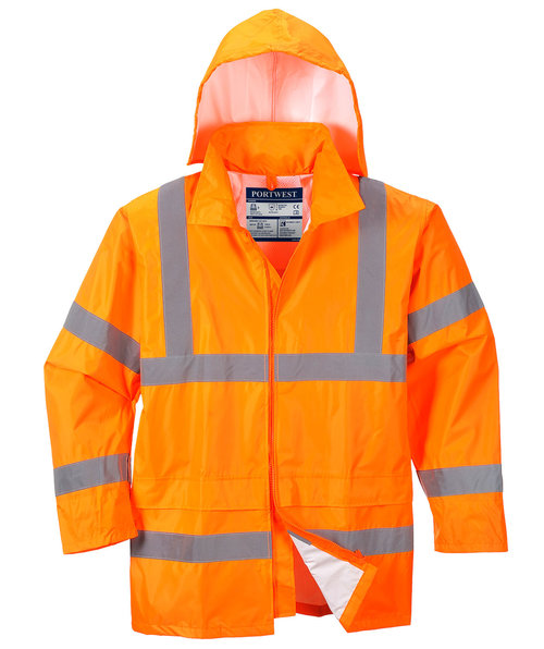 Portwest regnjacka, Varsel Orange