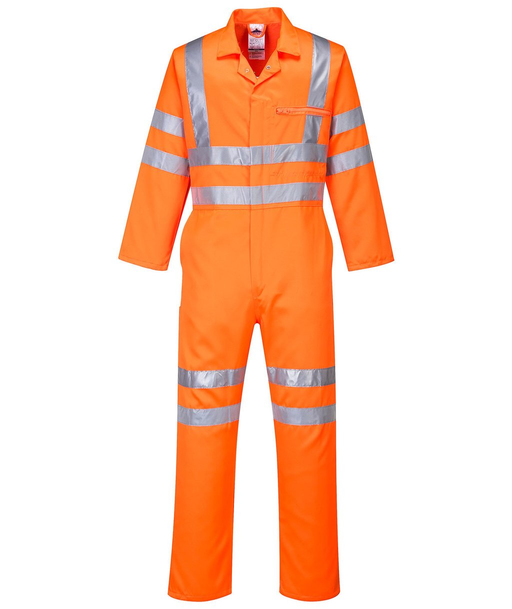 Portwest coverall, Hi-Vis Orange