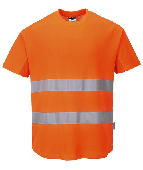 Portwest T-shirt, Hi-Vis Orange