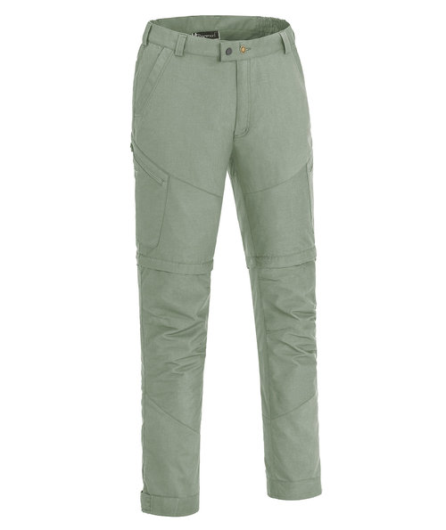 Pinewood Tiveden TC-stretch zip-off friluftsbyxa med insect-stop, Agave