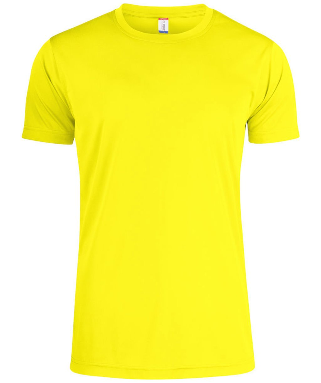Clique Basic Active-T T-shirt, Visibility Yellow