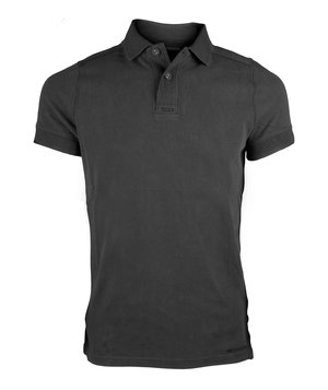 Dunderdon T11 Polo T-shirt, 100% bomuld, Sort