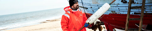 Fishing wear for harsh weather conditions