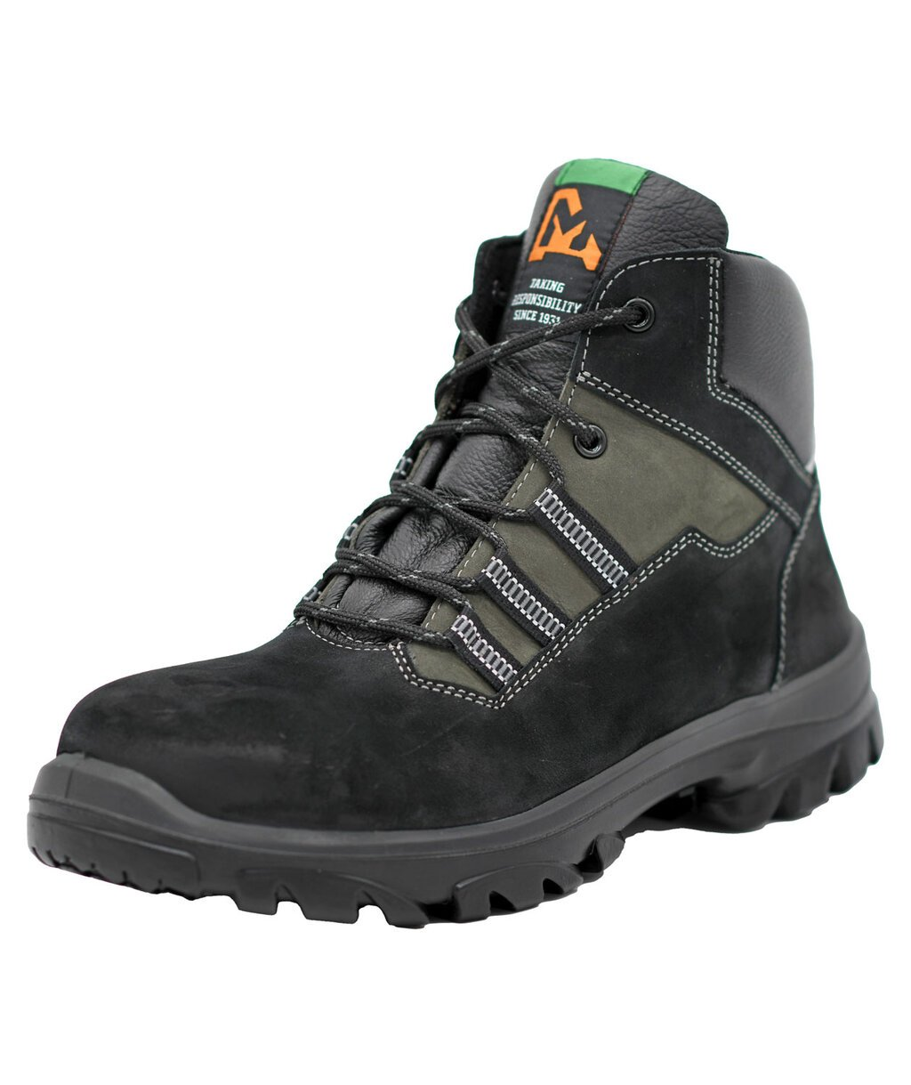 Emma Everon XD safety bootees S2, Black